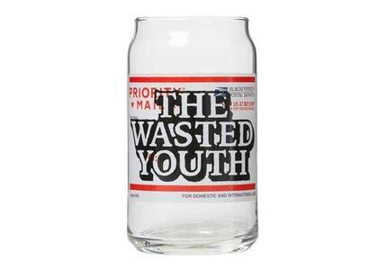 The Black Eye Patch  × Wasted Youth Priority Label Glass (SS21)の写真