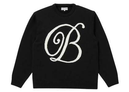 The Black Eye Patch Emblem Knit Sweater Black (SS21)の写真