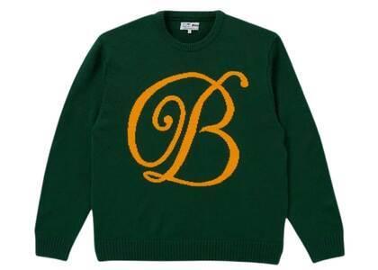 The Black Eye Patch Emblem Knit Sweater Green (SS21)の写真