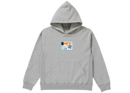 The Black Eye Patch Label Caution Hoodie H.Gray (SS21)の写真