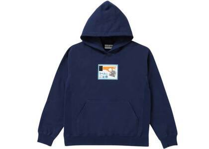 The Black Eye Patch Label Caution Hoodie Navy (SS21)の写真