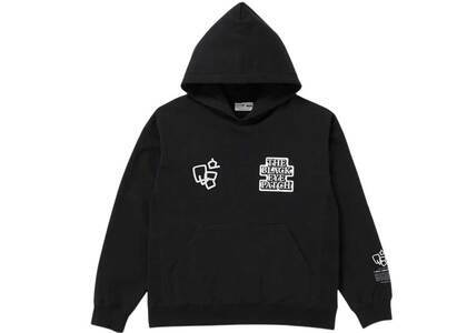 The Black Eye Patch Sect Uno Hoodie Black (SS21)の写真