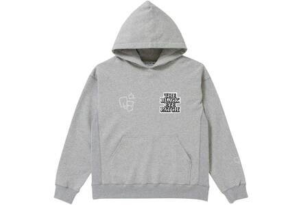 The Black Eye Patch Sect Uno Hoodie H.Gray (SS21)の写真