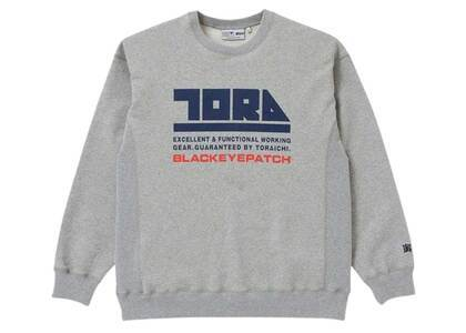 The Black Eye Patch Toraichi CrewSweat H.Gray (SS21)の写真