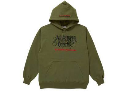The Black Eye Patch AGH Hoodie Olive (SS21)の写真