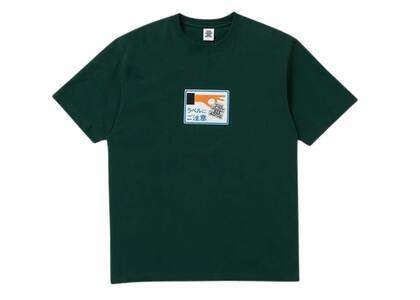The Black Eye Patch Label Caution Tee D.Green (SS21)の写真