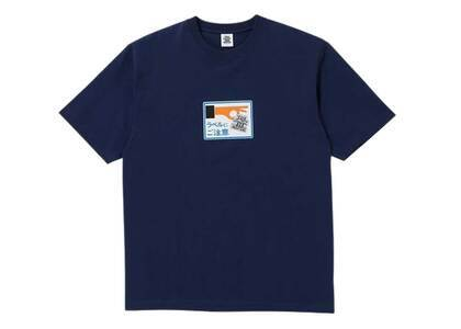 The Black Eye Patch Label Caution Tee Navy (SS21)の写真