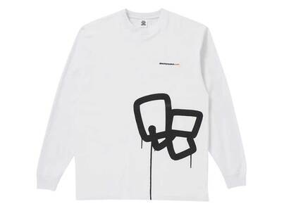 The Black Eye Patch Sect Uno L/S Tee White (SS21)の写真