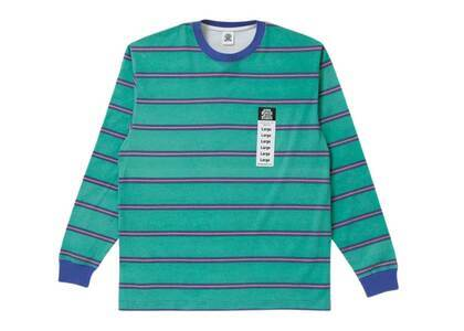 The Black Eye Patch Size Label Bordered L/S Tee Green (SS21)の写真