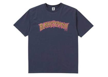 The Black Eye Patch Wolves Tee Navy (SS21)の写真