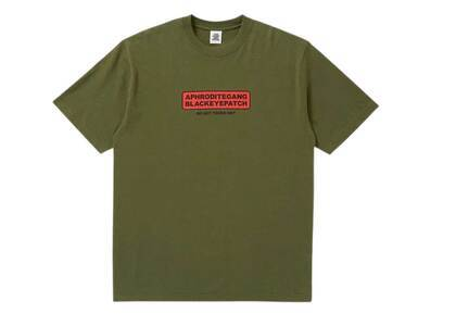 The Black Eye Patch AGH Warning Tee Olive (SS21)の写真