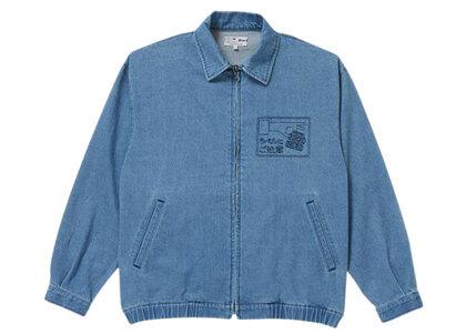 The Black Eye Patch Label Caution Washed Denim Jacket Washed Blue (SS21)の写真