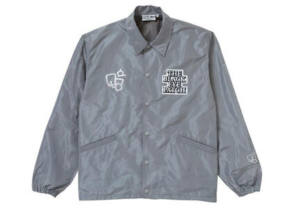 The Black Eye Patch Sect Uno Coach Jacket Gray (SS21)の写真