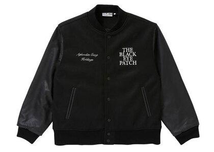 The Black Eye Patch AGH Varsity Jacket Black (SS21)の写真