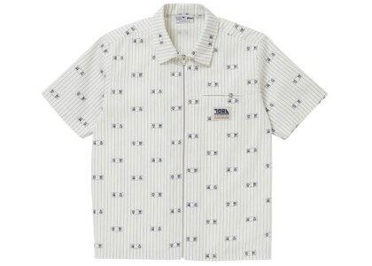 The Black Eye Patch Toraichi Zip Work Shirt Off White (SS21)の写真