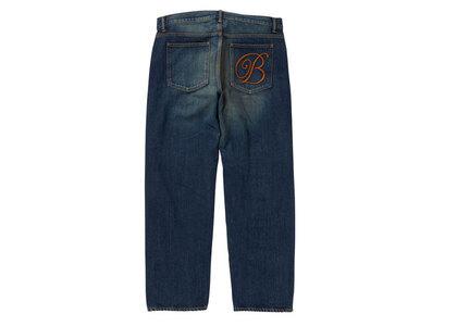 The Black Eye Patch Emblem Baggy Jeans D.Blue (SS21)の写真