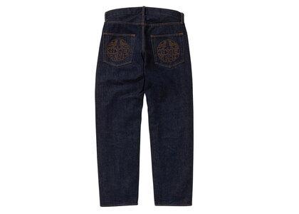 The Black Eye Patch Kamon Jeans Indigo (SS21)の写真