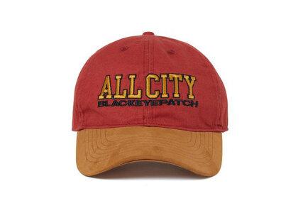 The Black Eye Patch All City Cap Maroon (SS21)の写真