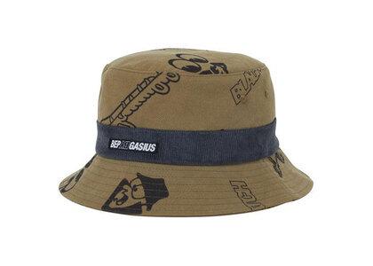 The Black Eye Patch Gasius Bucket Hat Khaki (SS21)の写真