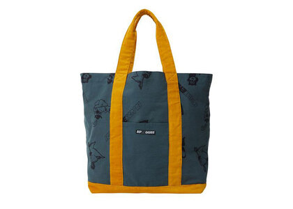 The Black Eye Patch Gasius Tote F.Green (SS21)の写真