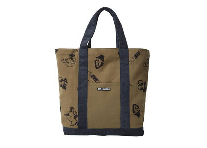 The Black Eye Patch Gasius Tote Khaki (SS21)の写真
