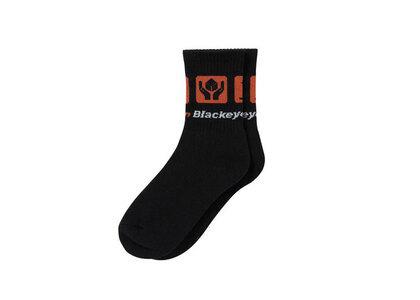 The Black Eye Patch Dotcom Socks Black (SS21)の写真