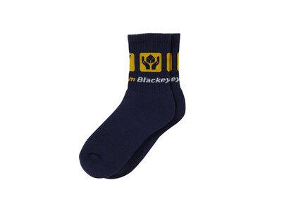 The Black Eye Patch Dotcom Socks Navy (SS21)の写真