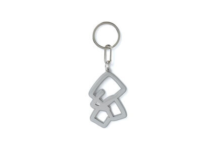 The Black Eye Patch Sect Uno Keychain Silver (SS21)の写真