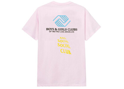 BGCMLA × ASSC Social Emotional Tee Pink (SS21)の写真