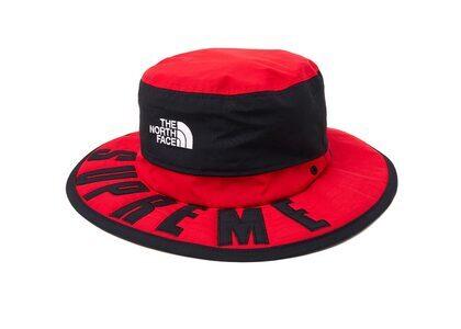 Supreme The North Face Arc Logo Horizon Breeze Hat Redの写真