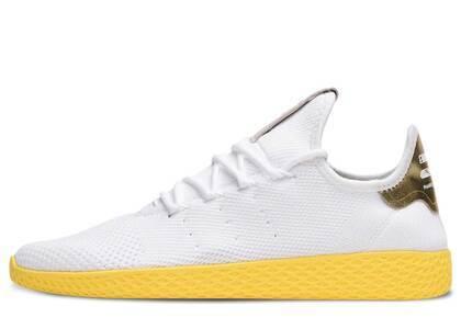 adidas Tennis Hu Pharrell White Yellowの写真