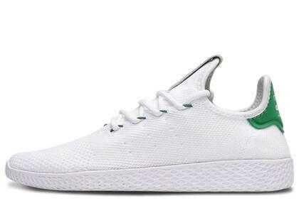 adidas Tennis Hu Pharrell White Greenの写真