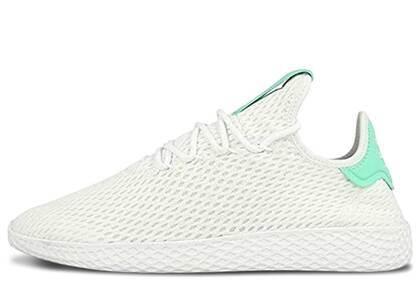 adidas Tennis Hu Pharrell Green Glowの写真