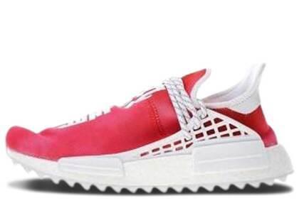 adidas Pharrell NMD Hu China Pack Passion Redの写真