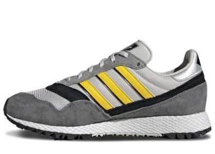 adidas Ashurst Spzl Grey One Yellowの写真