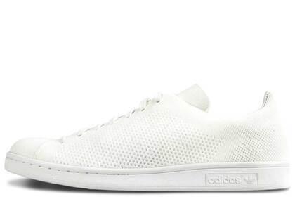 adidas Stan Smith Primeknit Triple Whiteの写真