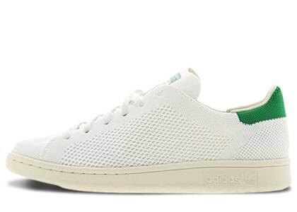 adidas Stan Smith Primeknit White Greenの写真