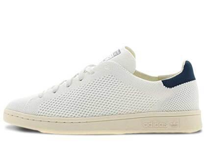 adidas Stan Smith Primeknit White Blueの写真