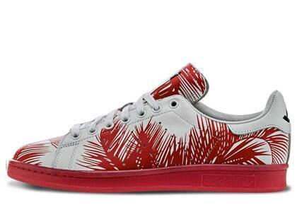 adidas Stan Smith Pharrell BBC Palm Tree Redの写真