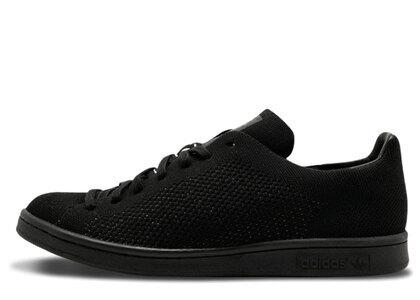 adidas Stan Smith Primeknit Triple Blackの写真