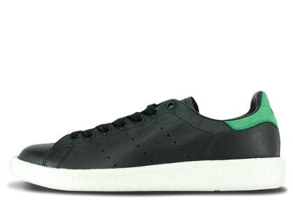 adidas Stan Smith Boost Black Greenの写真