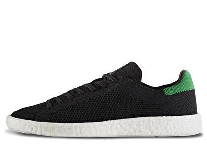 adidas Stan Smith Boost Primeknit Black Greenの写真