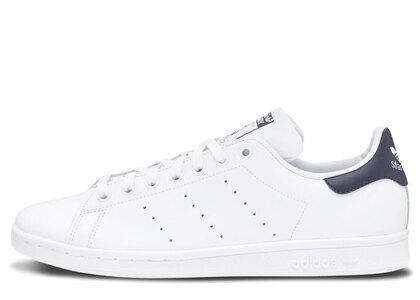 adidas Stan Smith Core White New Navyの写真