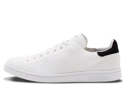 adidas Stan Smith Primeknit White Blackの写真