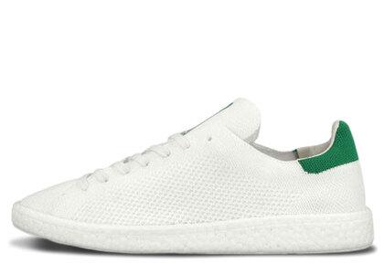 adidas Stan Smith Boost Primeknit White Greenの写真