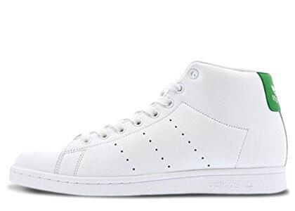 adidas Stan Smith Mid White Greenの写真