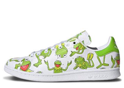adidas Stan Smith Kermit The Frog Printの写真
