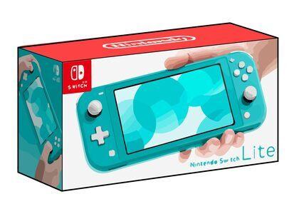 Nintendo Switch Lite ターコイズの写真