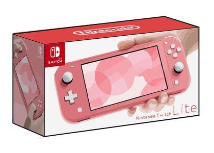 Nintendo Switch Lite コーラルの写真
