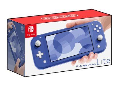Nintendo Switch Lite ブルーの写真